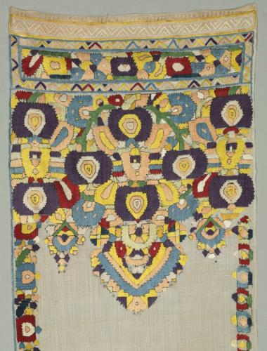 TensifaCeremonial-Scarf-used-to-Decorate-the-Mirror-of-Brides-Chamber1700s-Cleveland-museum-of-art